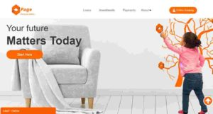 Page financials loans in Nigeria