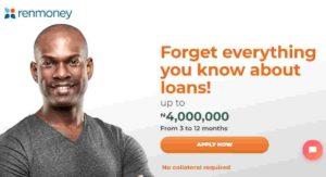 Renmoney loans in Nigeria