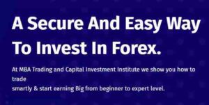 about mba forex trading