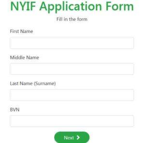Nigeria youth investment fund registration
