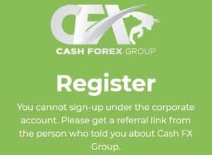 cash fx registration